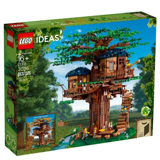 現貨 樂高 LEGO 21318 樹屋 Tree House IDEAS 系列  現貨  2盒原箱
