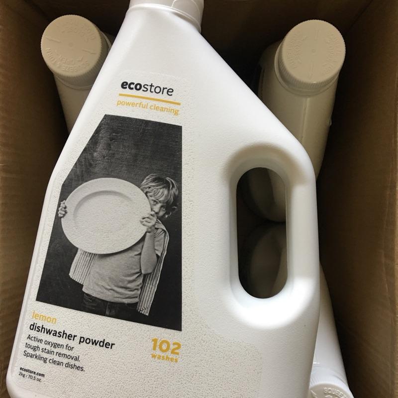 👏🍽🍴紐西蘭ecostore環保洗碗粉-經典檸檬🍋2kg(100蓋次)