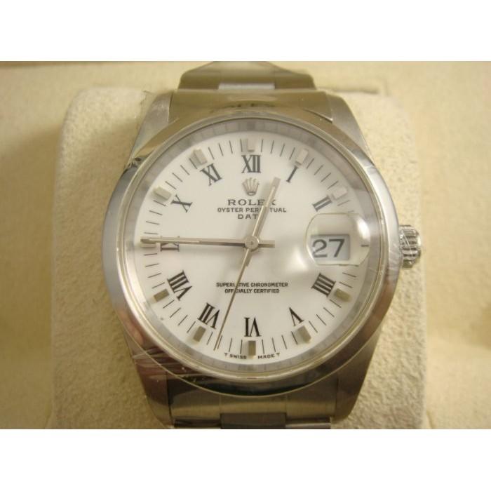 {上海當舖流當品} Rolex/勞力士 15200 羅馬數字白面 Date-Just 蠔式恆動系列 經典款 男仕腕錶