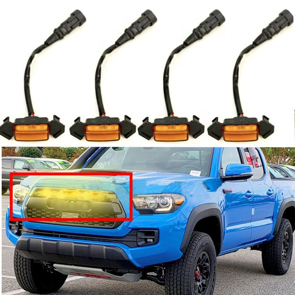 LED 水箱罩 中網燈 黃光 適用16-19 Tacoma