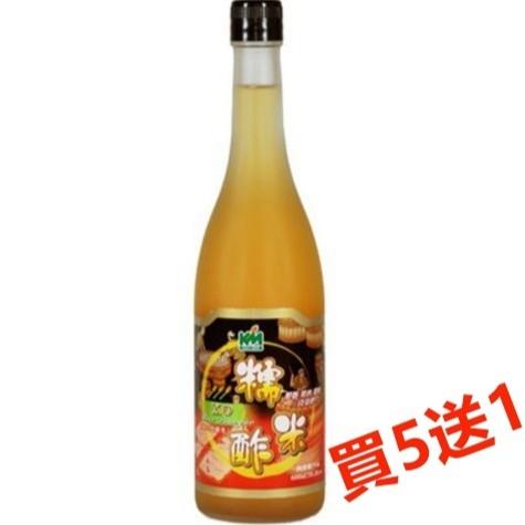 穀盛 XO糯米醋 600ml/瓶(買5送1)