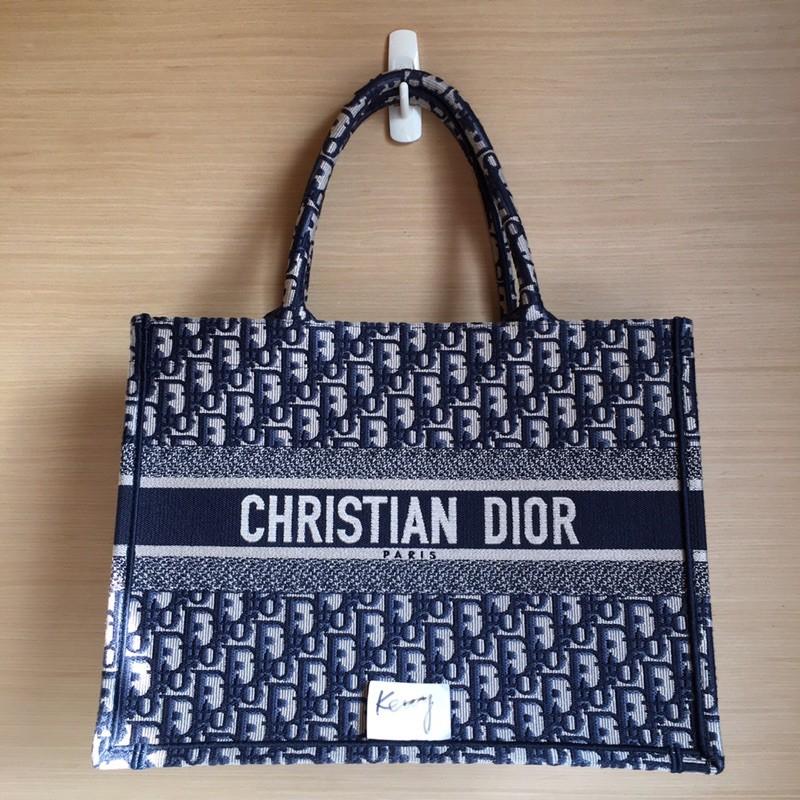 🔥🔥 Dior  Book Tote  Oblique刺繡帆布包🔥🔥