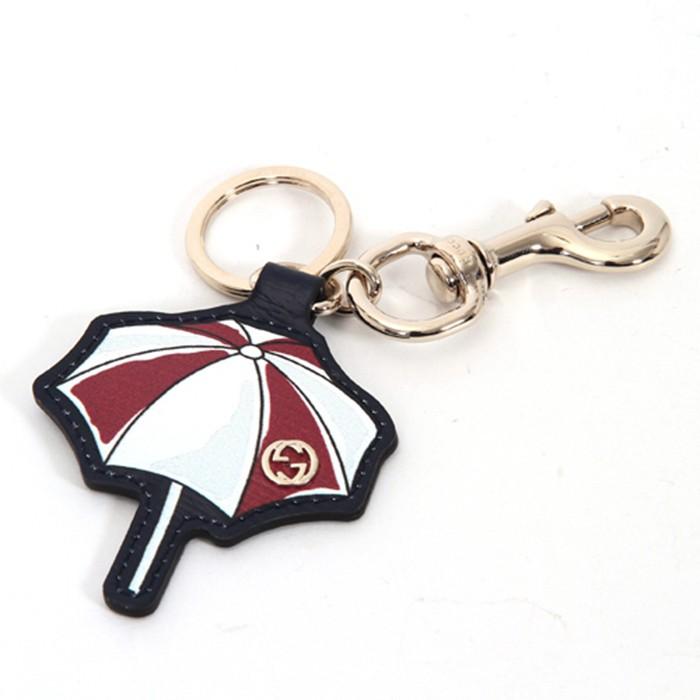 【GUCCI】海灘雨傘照型 鑰使圈(紅)