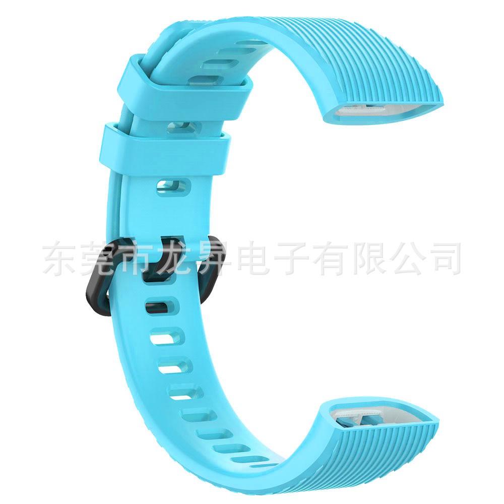 【快速出货】批发下杀现货☸☸❉適用于華為智能手環band3/3pro/band4/4 pro硅膠表帶TER-B09/B2