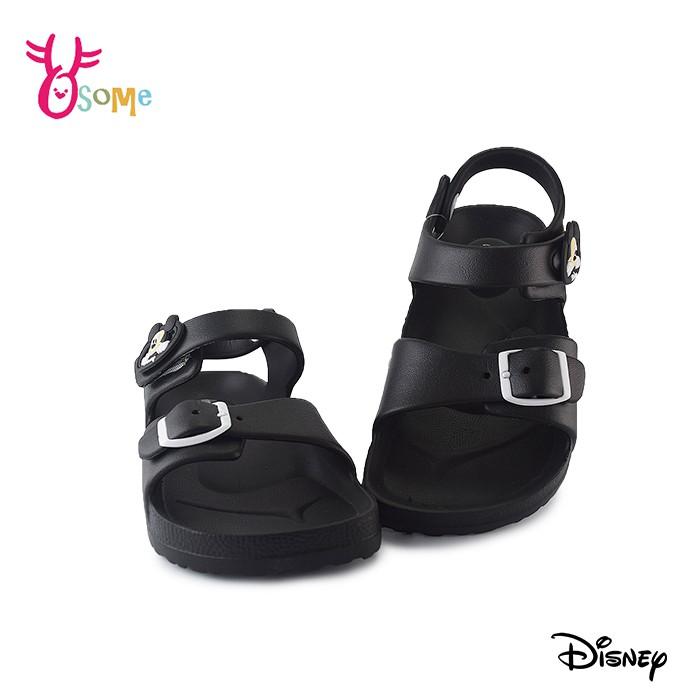 米奇兒童涼鞋 女童涼鞋 防水涼鞋 休閒涼鞋 迪士尼 MIT台灣製 J6613黑色OSOME奧森鞋業