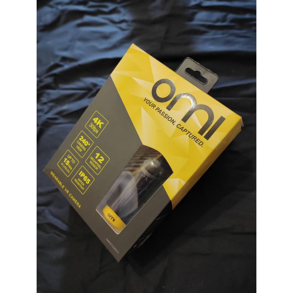 🔥含運可刷卡 分期零利率🔥 omicam 穿戴式 240度VR全景攝影機 OMICAM