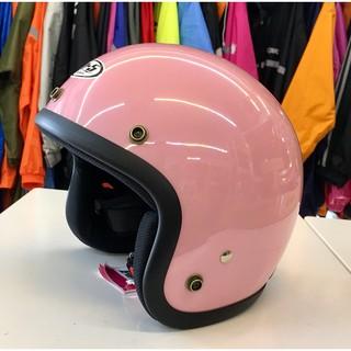 林森●GP-5安全帽,半罩安全帽,3/ 4帽,復古帽,小帽體,D303,粉 新北市