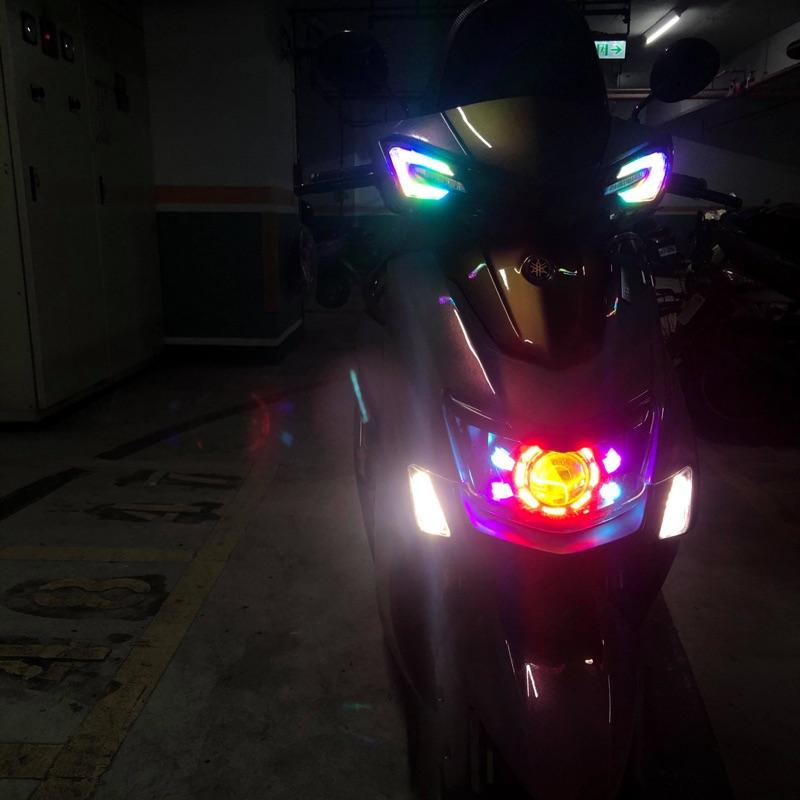 代友售勁戰五代訂製魚眼大燈 五代koso改炫彩方向燈 四代Koso 方向燈 四代rk5尾燈