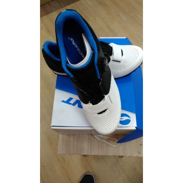 GIANT 捷安特 PRIME 自行車專用硬底鞋(Boa旋鈕) 第二代全新到貨 白藍