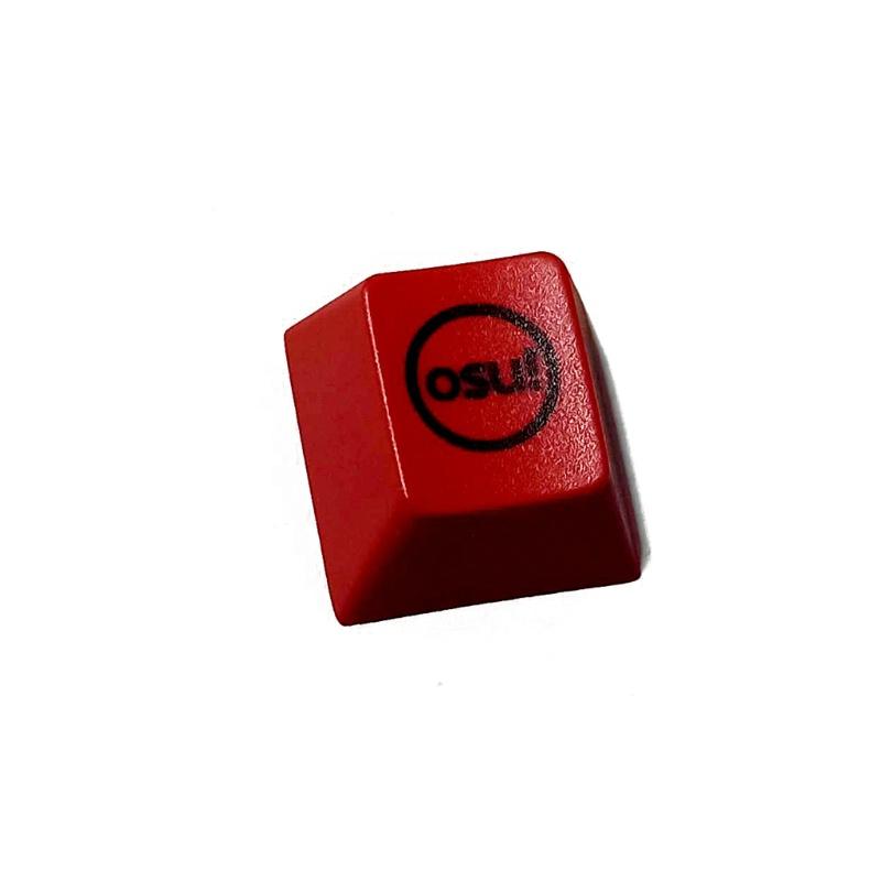 brroa 【PC】 1 件 PBT 染料亞機械鍵盤鍵帽 CherryProfile R4 創意 OSU 鍵帽