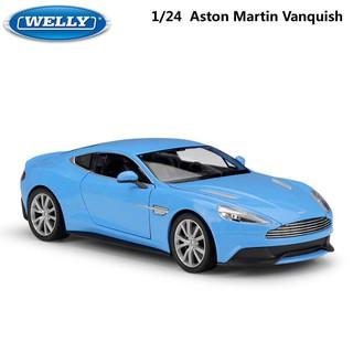 【W先生】Welly 威利 1:24 1/ 24 奧斯頓 馬丁 Aston Martin 金屬 合金 模型車