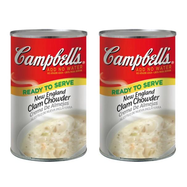 好市多Costco Campbell's 金寶 新英倫蛤蜊濃湯#30804