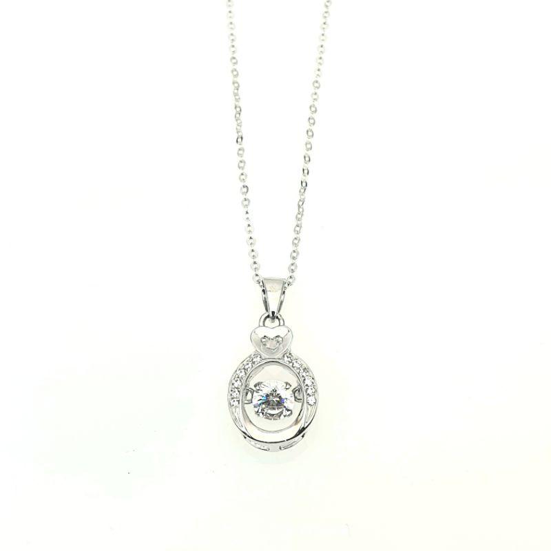 【承豐珠寶】Pt950 白金愛心小瓶墜飾(不含鍊)