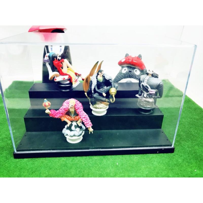 高型 扭蛋專用展示陳列收藏盒 (戽斗星球,戰鬥陀螺,尋找威利,蠟筆小新,SD鋼彈)