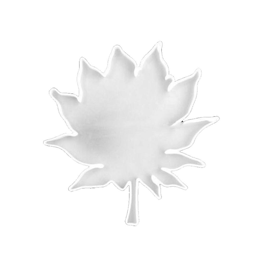 大楓葉diy水晶膠矽膠模具杯墊模具葉子楓葉鑽石手工鏡鏡子