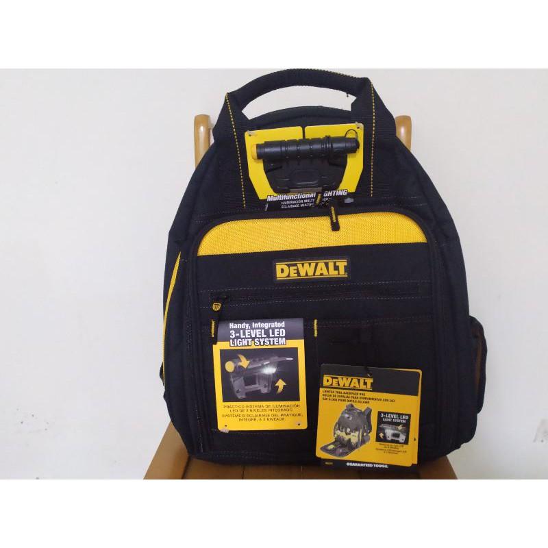 得偉 DEWALT DGL523 照明工具背包