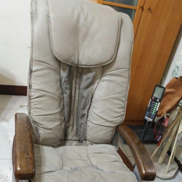 日光按摩椅換皮NIKKO按摩椅脫皮NI-585C按摩椅布套BH按摩椅修理輝葉按摩椅修理