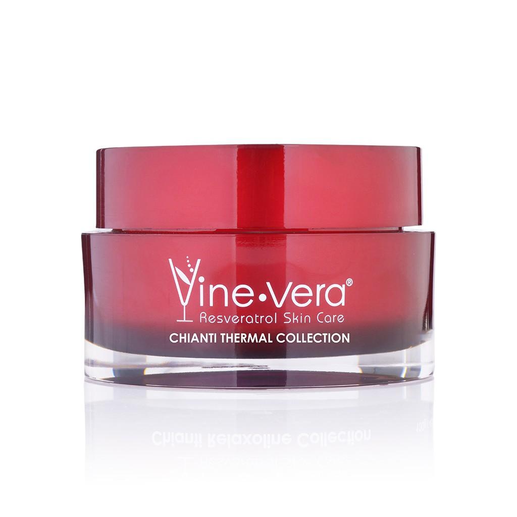 【Vine vera】白藜蘆醇錫安蒂熱力面膜130g