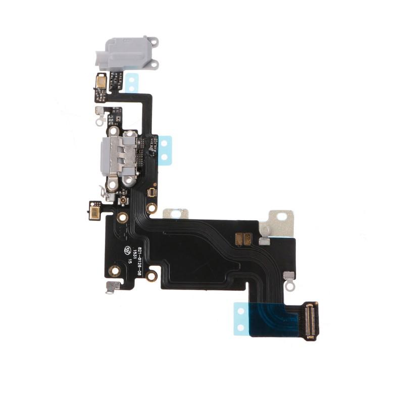 適用於iPhone 6S Plus的USB充電端口連接器麥克風耳機插孔柔性電纜零件充電線