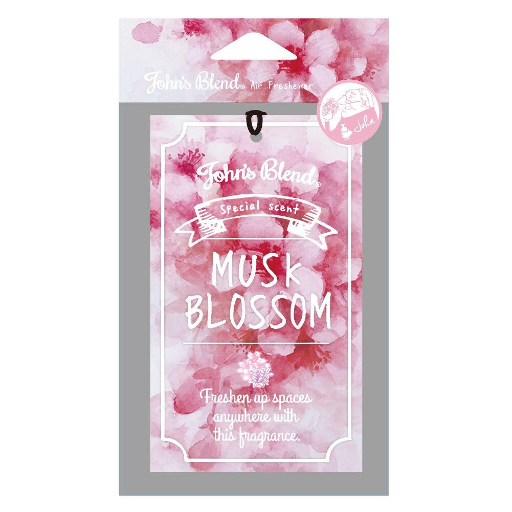 日本 John′s Blend Musk blossom 限定款 櫻花麝香 香氛 吊卡 / 香片 化學原宿