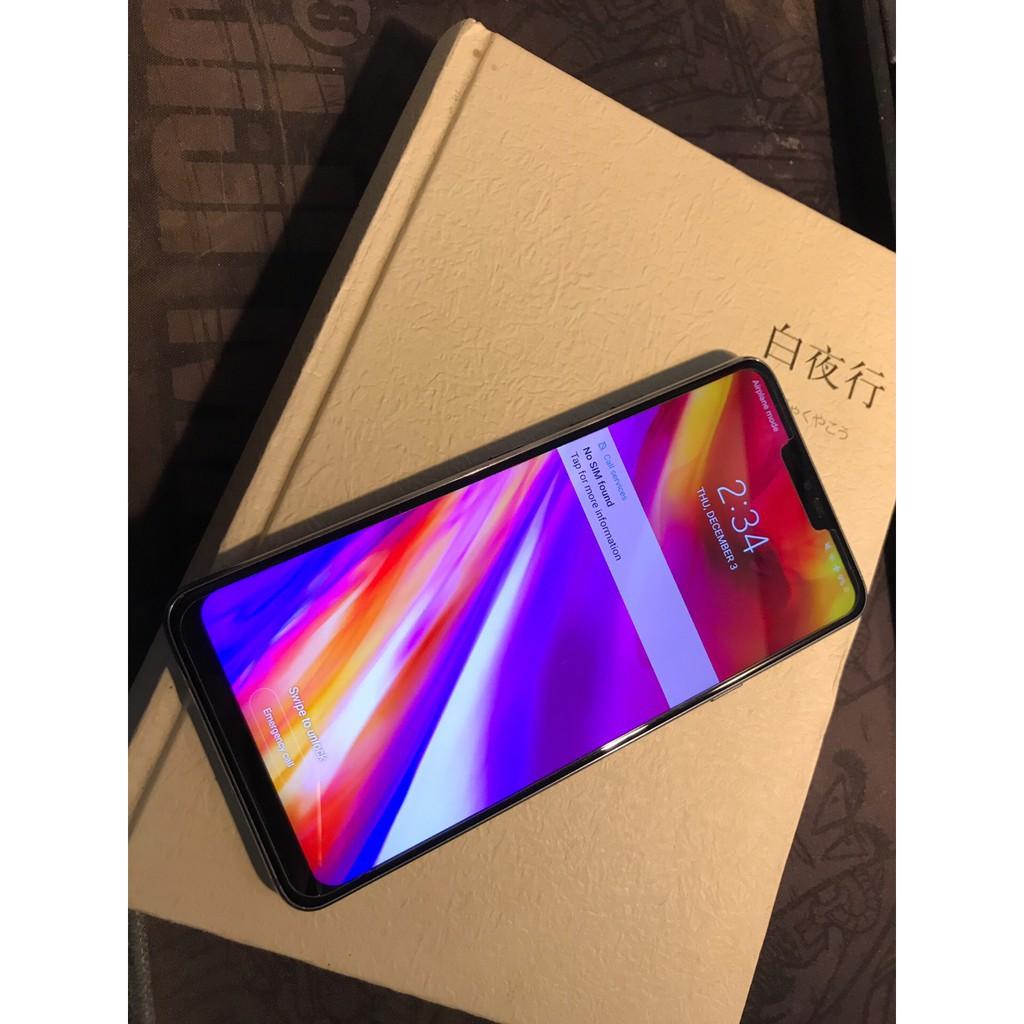 現貨LG G7 美版 ThinQ 4+64G 驍龍845 2000分辨率HIFI音質 99新福利機