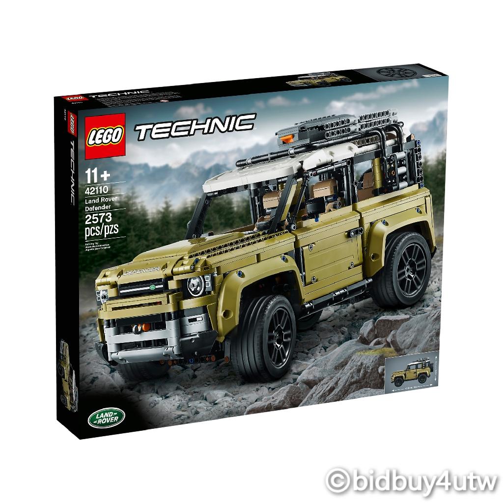 LEGO 42110 Land Rover Defender 動力科技系列 【必買站】樂高盒組