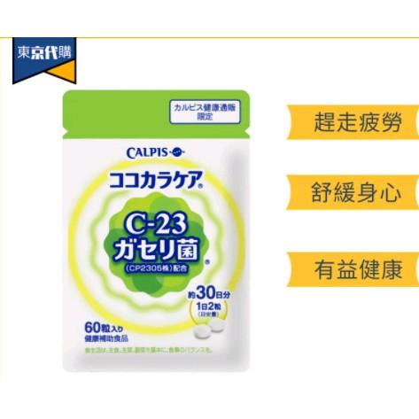 可爾必思C 23乳酸菌 Calpis CP2305  阿雷可雅 L-92乳酸菌