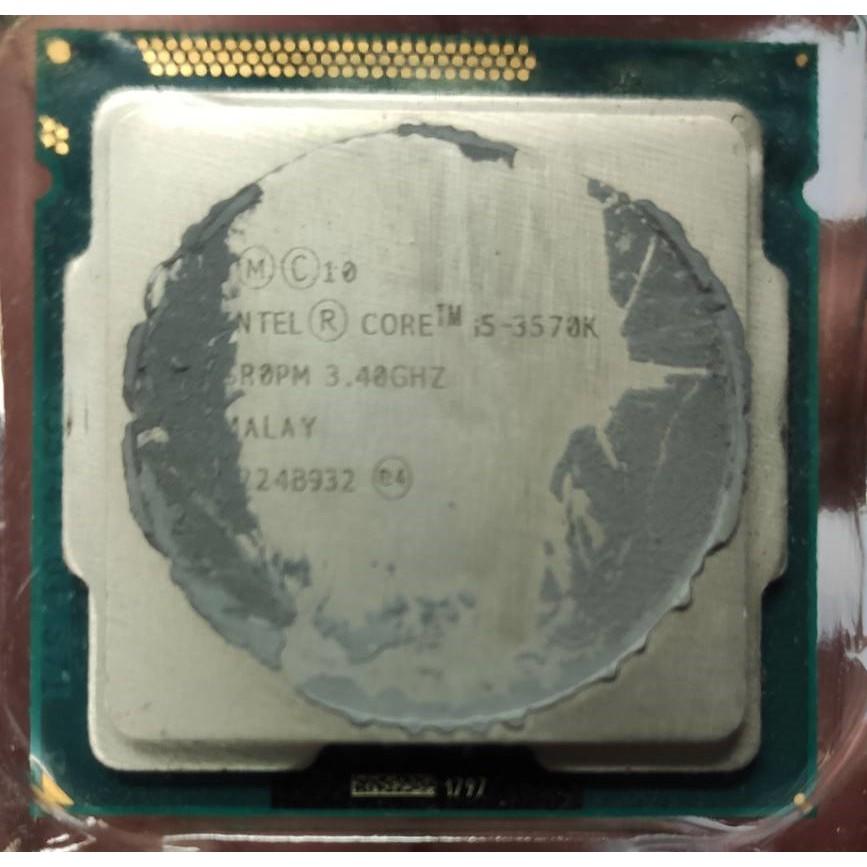 INTEL I5-3570K  I5-3470 I5-3450 I5-2500 I5-2400 拆基良品 便宜賣 無風扇