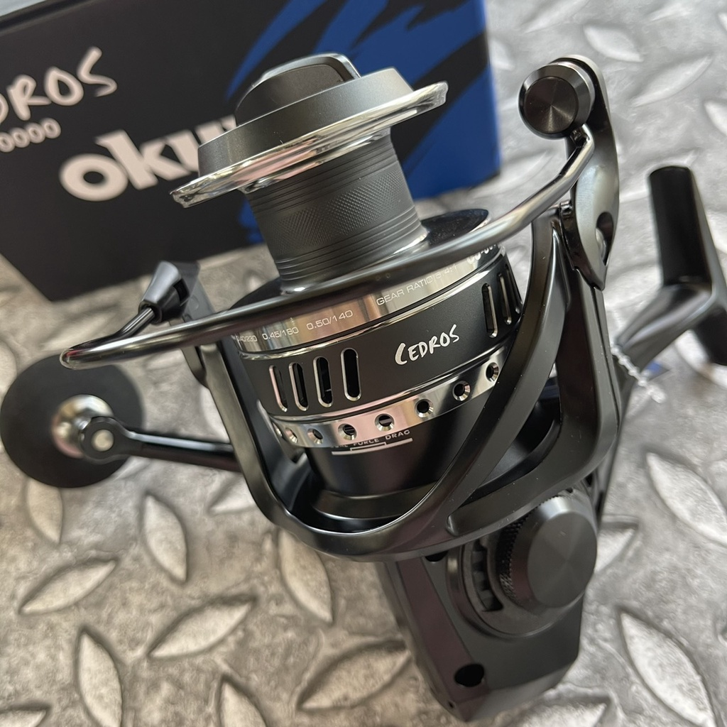 寶熊 OKUMA 2021 最新 CEDROS 喜多智 捲線器 大物捲線器 紡車 海釣場 #4000~14000