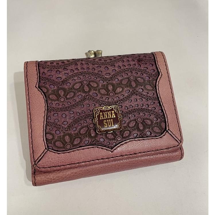 Anna Sui皮夾🦋 小皮夾 三折皮夾