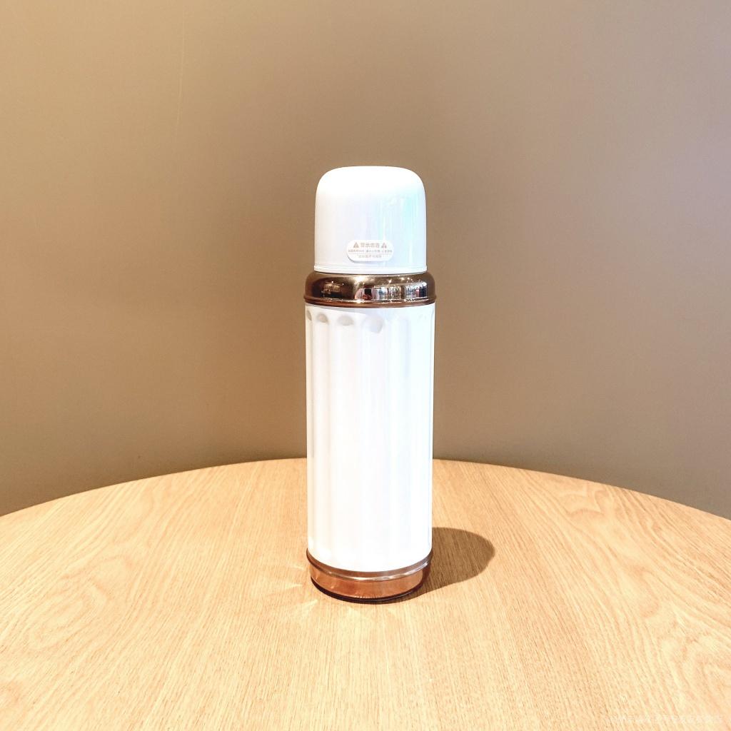 星巴克杯子2021限定50週年慶簡約白色復古款不鏽鋼保溫杯隨行水杯