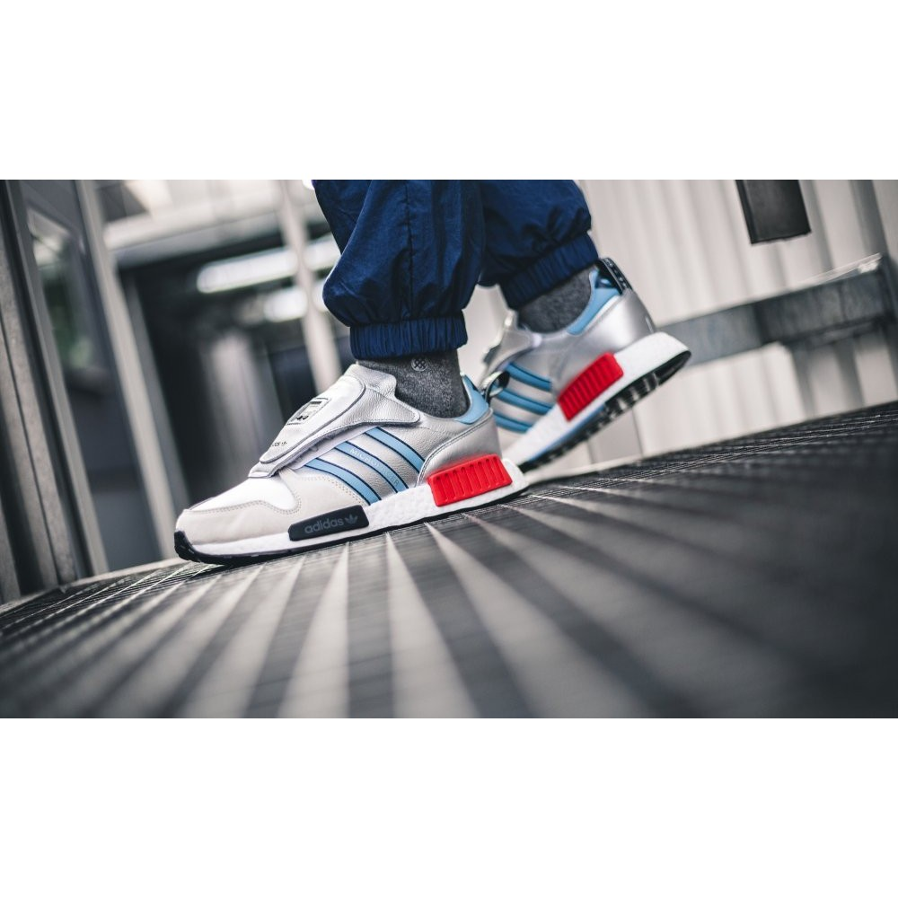 detailed look dda39 a1a9e adidas Micropacer NMD R1 銀色 G26778 慢跑鞋 (sale)