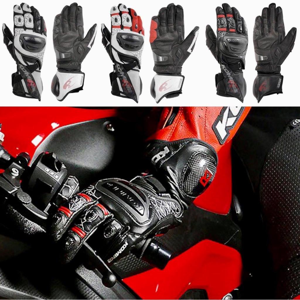 [ KGB 摩托特工 ]日本 KOMINE 正版 GK-235 GK235 長版皮手套 長手套 競賽手套 鈦合金護具