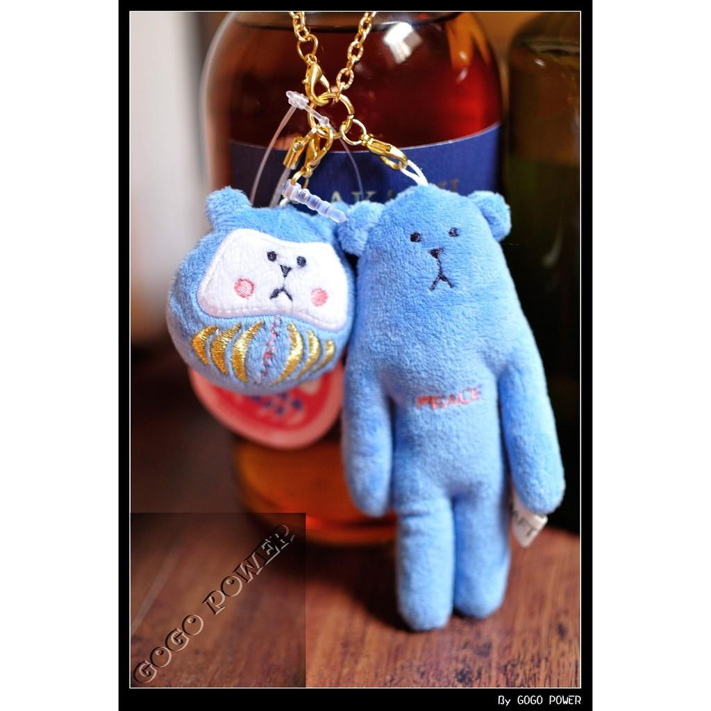 【匏匏人日貨】 達摩 peace 熊 吊飾/耳機塞 Craftholic 宇宙人/日貨/最新款/夏日/手機