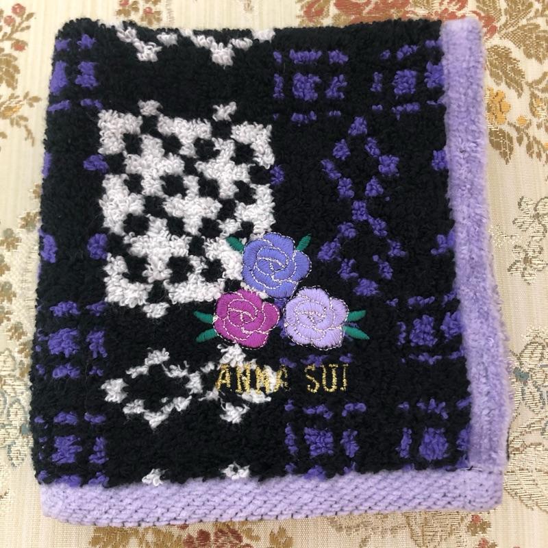【芸芸私物】Anna Sui厚綿毛巾布手帕