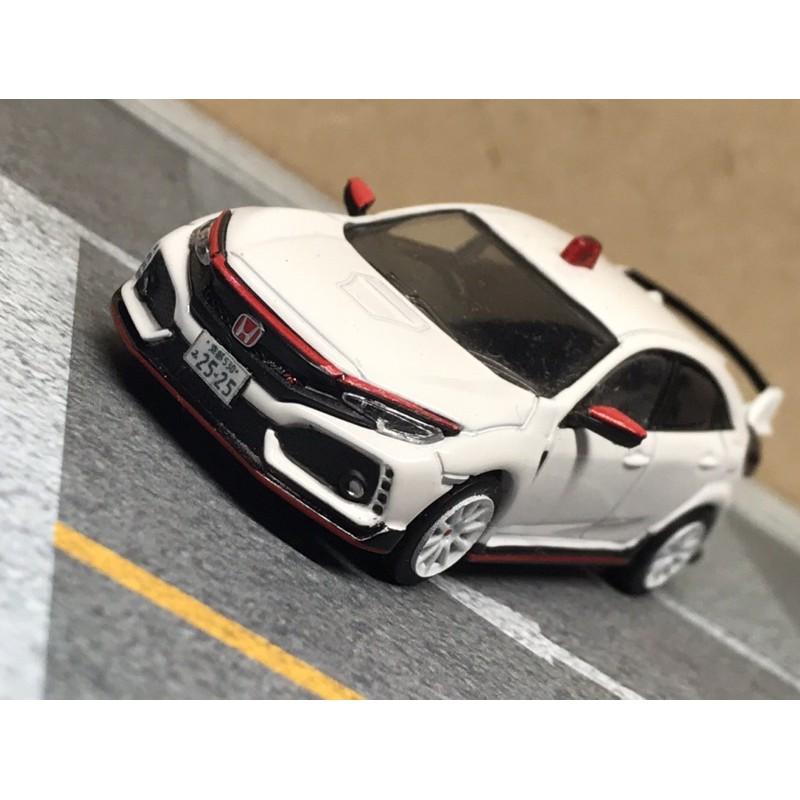 tarmac 二改 Honda Civic type R 覆面警車 1/64 1:64 Tomytec Tomica