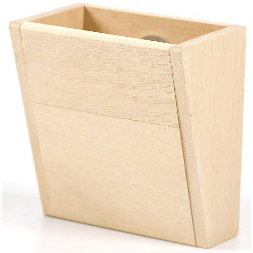 Canary 天然原木牧草盒 寵兔精選 天竺鼠 成兔 幼兔 牧草專用 100%天然原木防啃咬