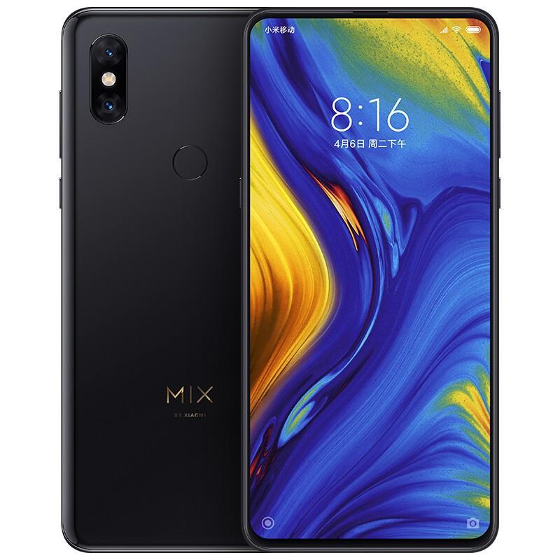 【二手9成新】小米Mix3 手機 驍龍845    全面屏拍照  黑色 6GB+128GB