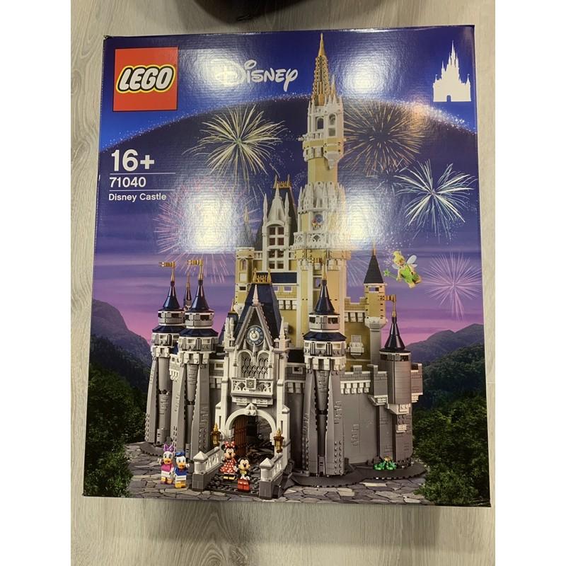 樂高 71040 迪士尼城堡 用黑貓寄送