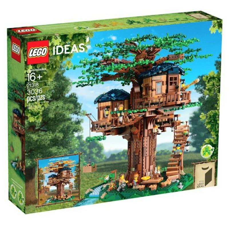 LEGO 21318 樹屋 正版 尺吋過大只能郵寄