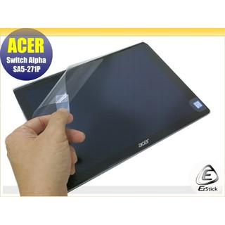 【Ezstick】ACER Switch ALPHA 12 SA5-271 靜電式平板LCD液晶螢幕貼(可選鏡面或霧面) 臺北市