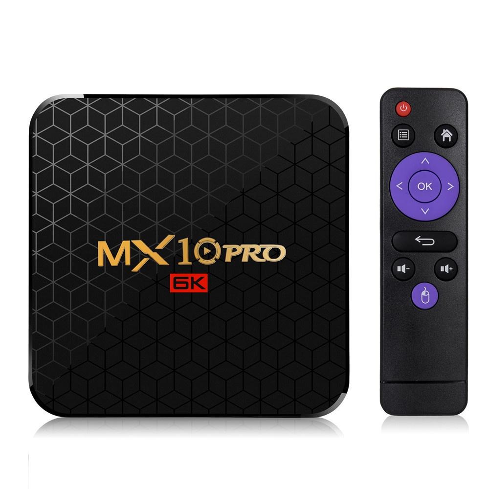 MX10 PRO 安卓電視盒 TV Box  4G/64G Wifi