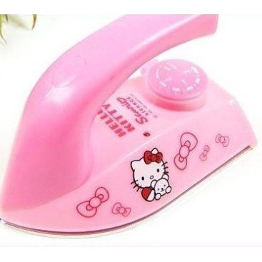 KT可調溫度Hello Kitty鐵迷你熱電熨斗KT貓