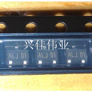 10PCS  贴片三极管 13001 贴片 SOT23 小功率三极管 ALJ01/8D丝印