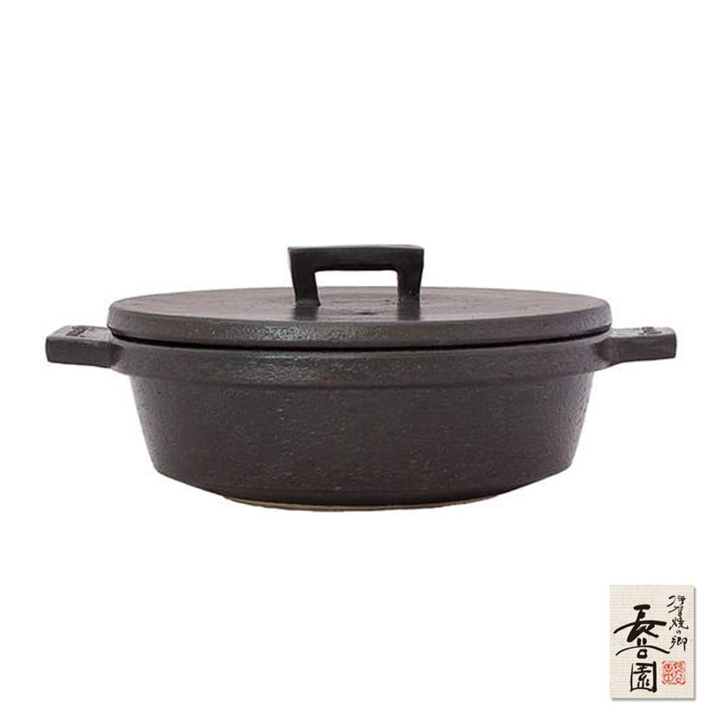 【日本長谷園伊賀燒】小酒館珍味陶鍋(兩色)