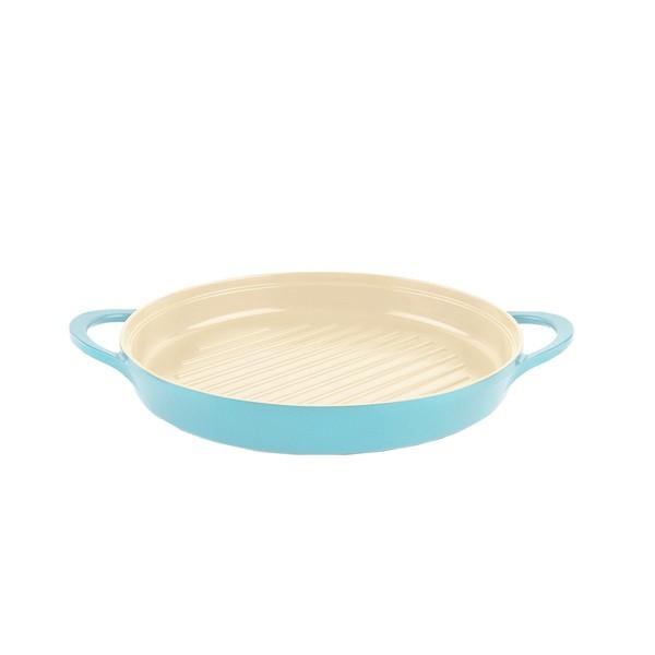 NEOFLAM Retro系列26cm圓形烤盤-薄荷色(無附鍋蓋)