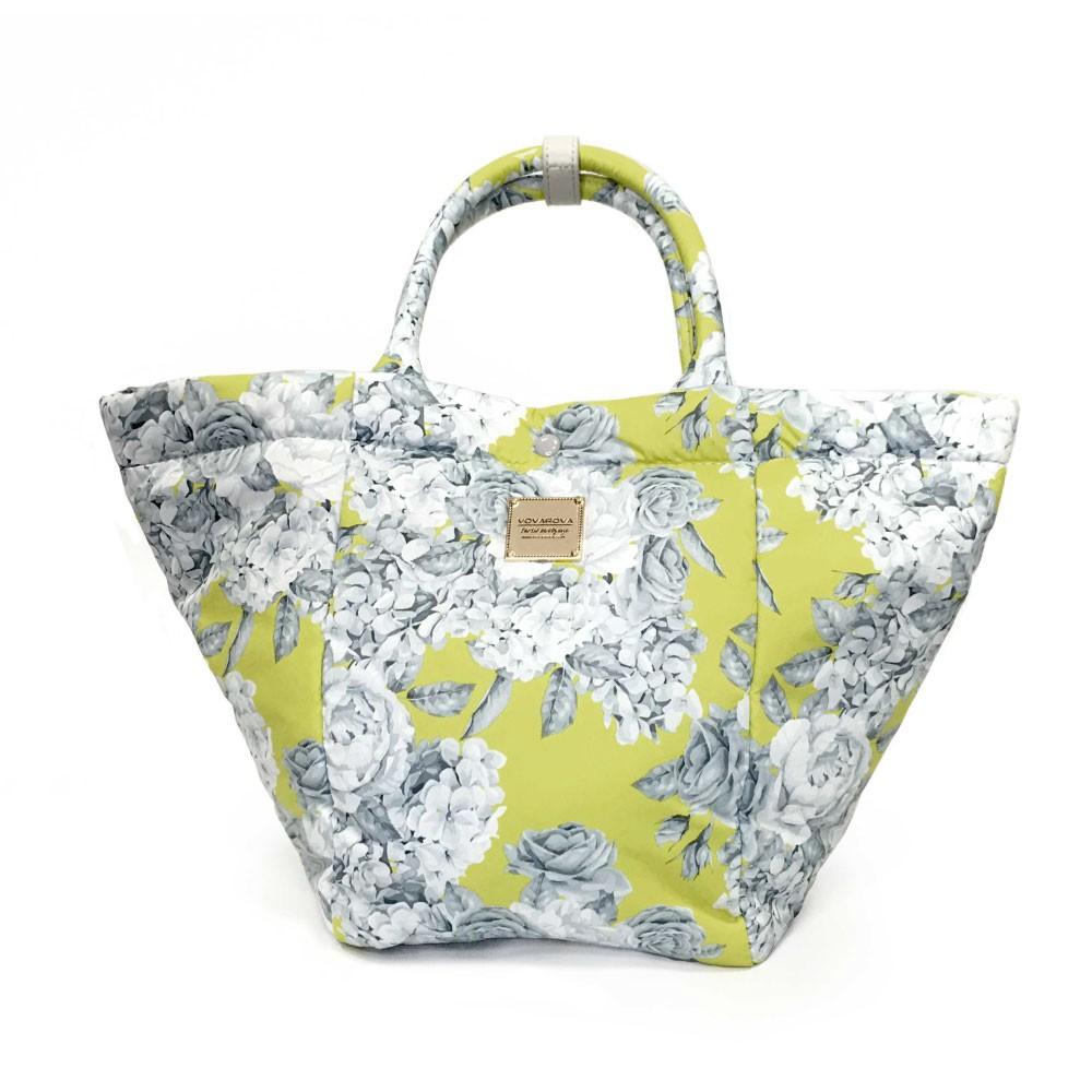 VOVAROVA空氣包-造型百變托特包-花漾(黃)