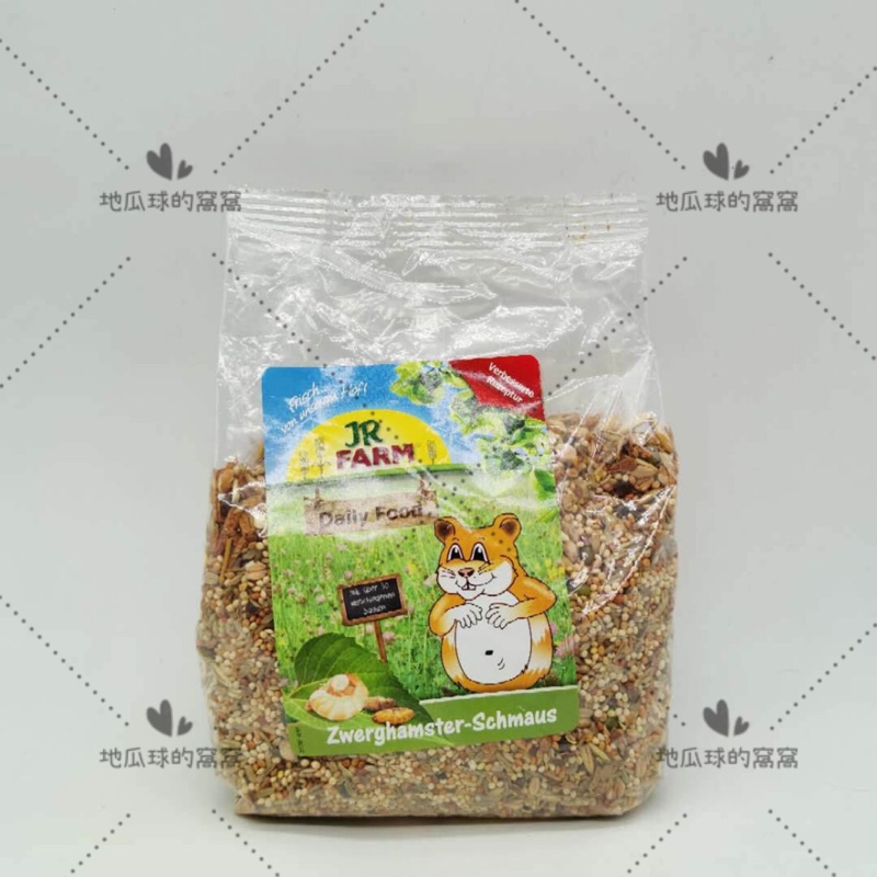 🌸主糧原包裝🌸【JR Farm無糖盛宴侏儒倉鼠糧】一線鼠 三線鼠 老公公 鼠飼料