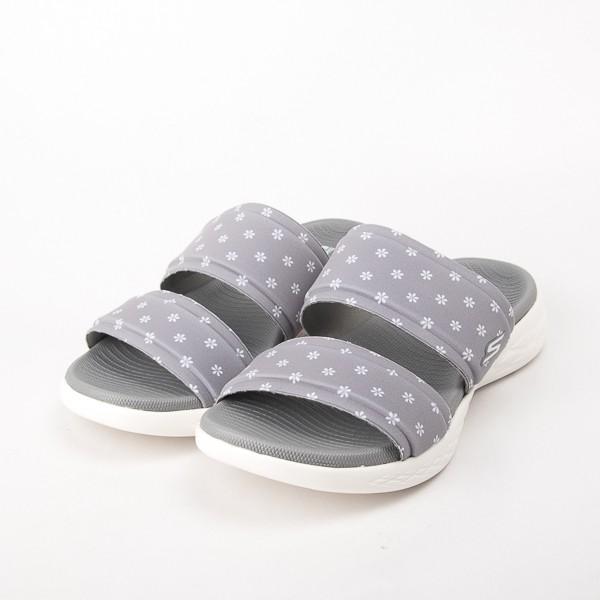 Skechers  女 健走系列 涼拖鞋ON THE GO 600-灰 16166GRY  現貨