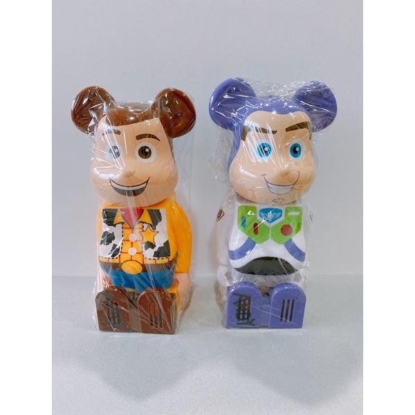 cleverin 日本 加護靈 玩具總動員 be@rbrick 巴斯光年 200% 胡迪 庫柏力克熊